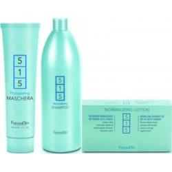 Farmavita 515 Dandruff Treatment 1)Phytopeeling Maschera 150ml 1)Shampoo 1000ml 1)Lotion 12 Phial