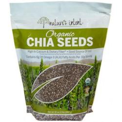 Nature's Intent Organic Chia Seed 32 oz