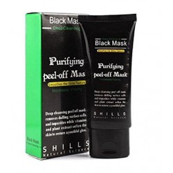 SHILLS Natural Science Black Mask Deep Cleansing Purifying peel-off Mask 50m