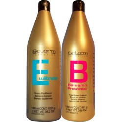 Salerm Balancing Shampoo 36 oz -Conditioner 34.6 oz