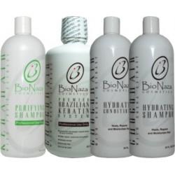 Bio Naza ChocoHair Group (1)Purifying 32oz (1)Choco Hair Keratin 32oz (1)Hydrating Shampoo 32oz (1)Hydrating Conditioner 32oz