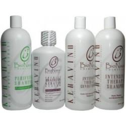 Bio Naza KeraVino Group 32 oz (1)Purifying 1)Keravino 1)Shampoo 1)Conditioner