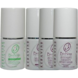 Bio Naza KeraVino Group 3 oz (1)Purifying 1)Keravino Keratin 1)Shampoo 1)Conditioner
