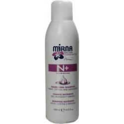 Echosline Mirna N+ Nourishing Shampoo Garlic, Cotton and Sunflower 1000 ml / 33.8 oz