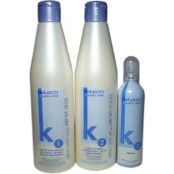 Salerm Keratin Shot Kit - Maintains Hair Straight for up to 24 weeks (Group of 3)
