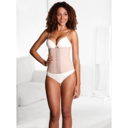 Squeem Shapewear Classic Collection Perfect Waist Cotton and Rubber Beige 26PW01