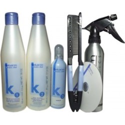 Salerm Keratin Shot Kit - Maintains Hair Straight for up to 24 weeks (Group of 6)