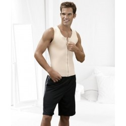 Squeem Shapewear Classic Collection Men's Cotton and Rubber Power Vest